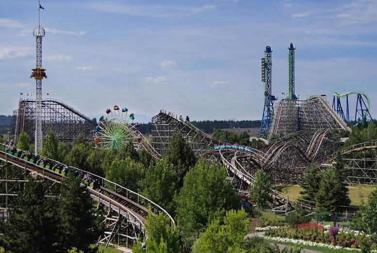 Silverwood Theme Park is a stunning vacation destination in the Pacific Northwest.