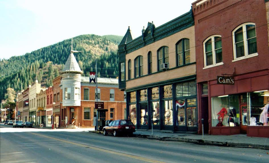 Wallace, Idaho, is an excellent vacation destination in the Pacific Northwest.