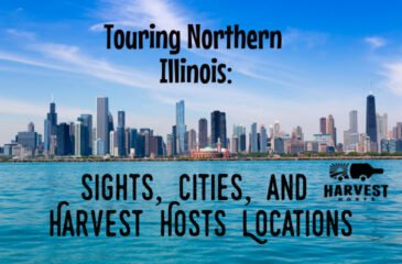 Touring Northern Illinois: Sights, Cities, and Harvest Hosts Locations