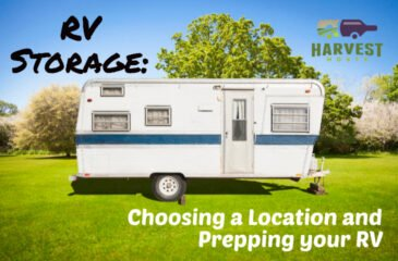 RV Storage: Choosing a Location and Prepping your RV