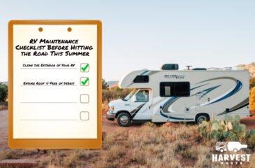 RV Maintenance Checklist Before Hitting the Road This Summer