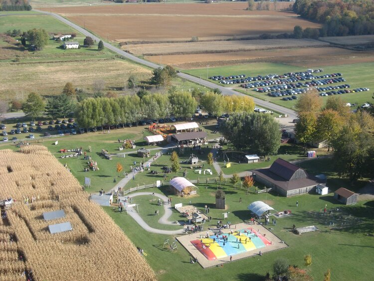 Long Acres Farm opened in 1993.