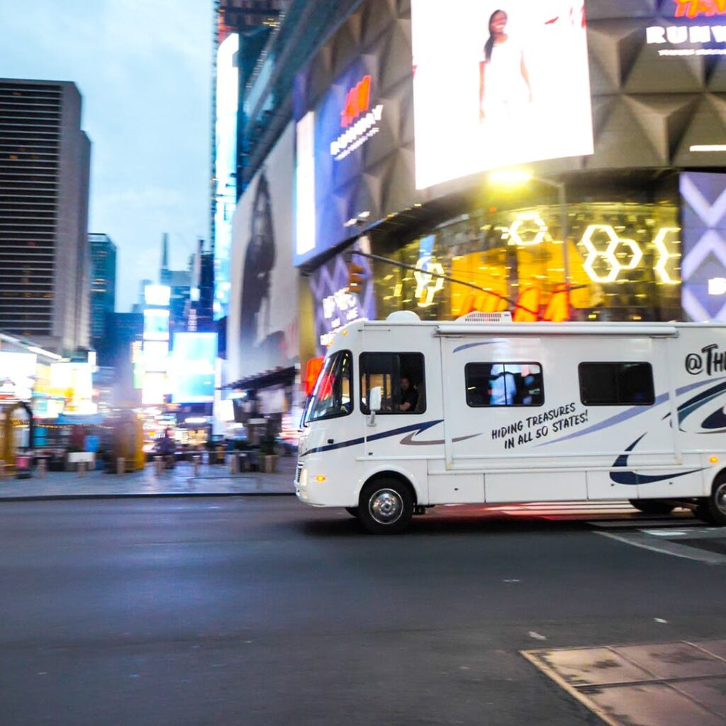 Playing tourist in a city is one of the best ways to have fun while traveling in an RV.
