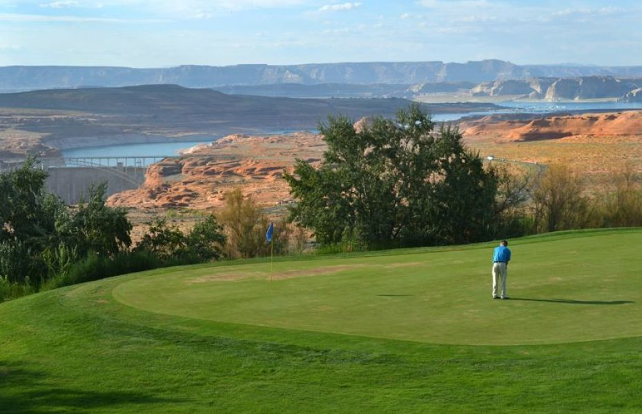 Powell Golf Club is an awesome Harvest Hosts location in the American West.