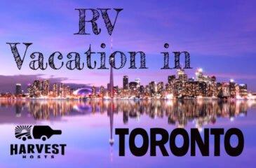 RV Vacation in Toronto