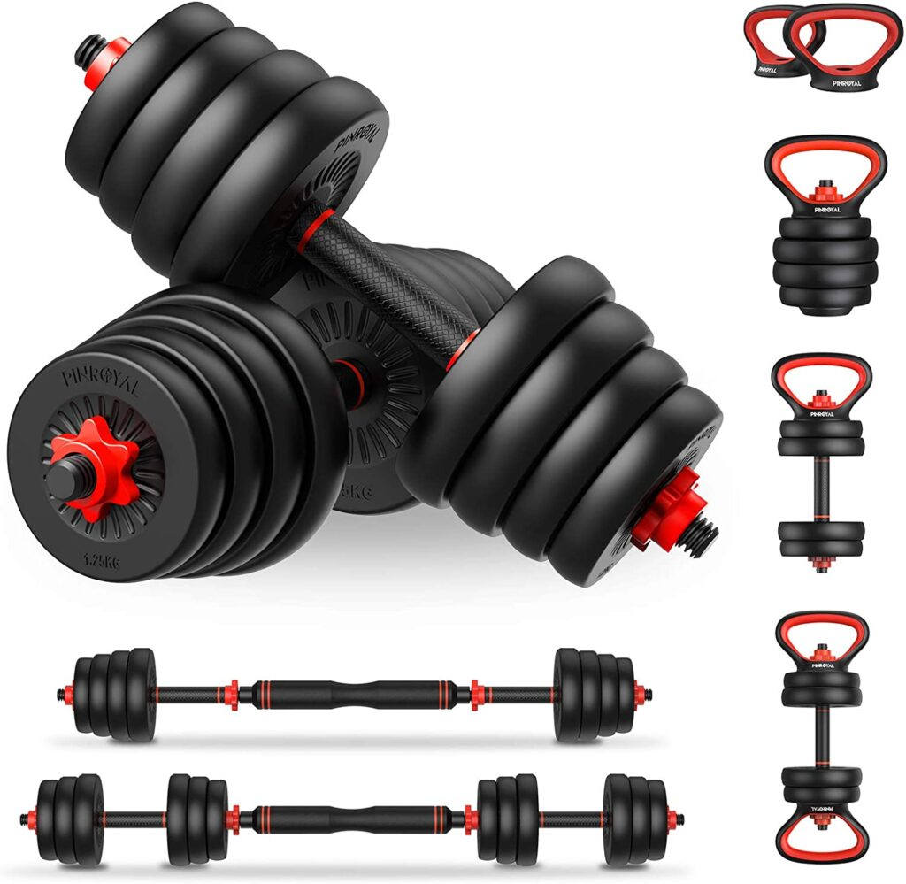Adjustable Dumbbells are a great tool for staying fit on the road.