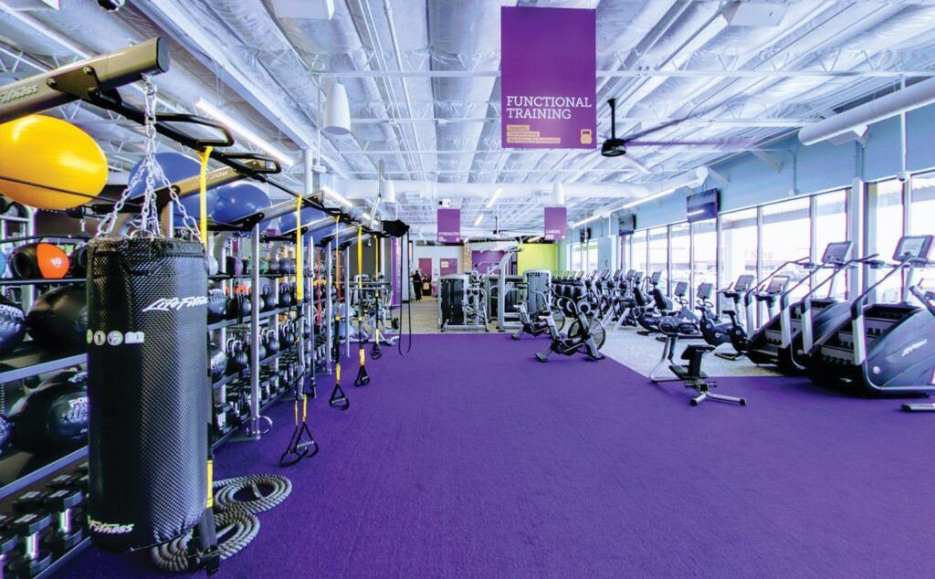 Anytime Fitness is an awesome gym for maintaining your fitness on the road.