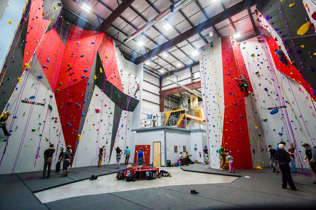 Bliss Climbing and Fitness is a great place to stay fit on the road.
