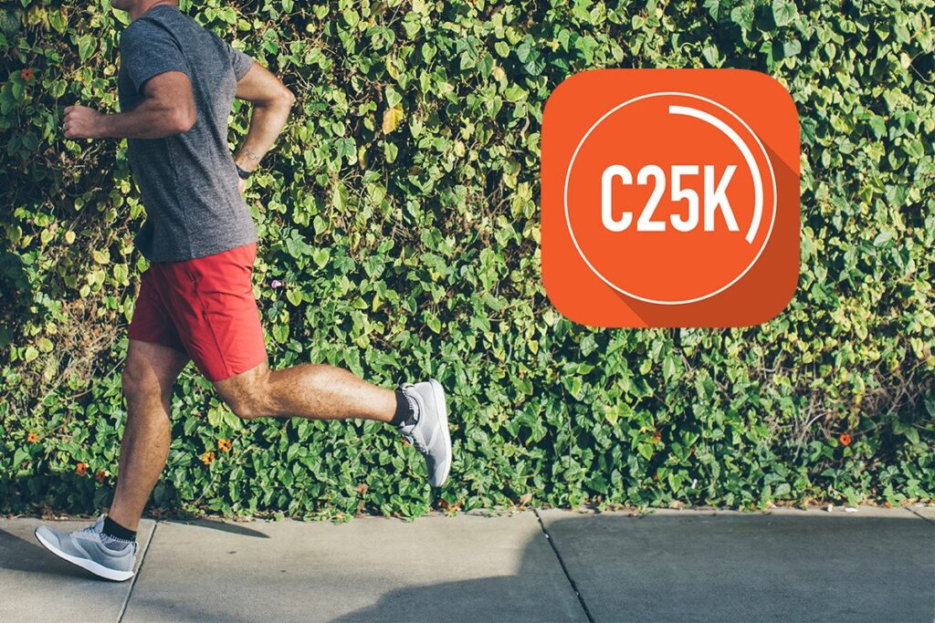 C25K is a great tool for staying fit on the road.