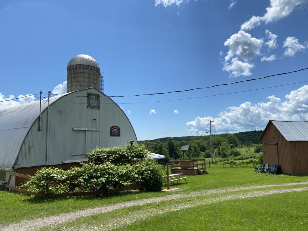 Hummingbird Hills Winery is one of our amazing Harvest Hosts locations in upstate New York.