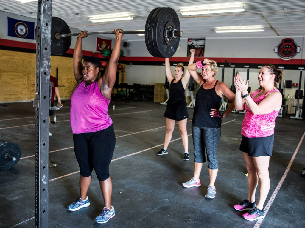 CrossFit is an awesome gym for maintaining your fitness on the road.