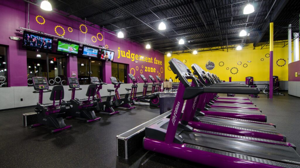 Planet Fitness is an awesome gym for maintaining your fitness on the road.