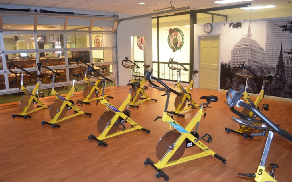Willy's Gym is a great place to stay active on the road. to