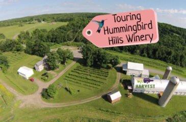 Touring Hummingbird Hills Winery