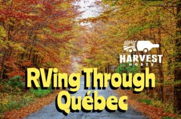 RVing Through Québec