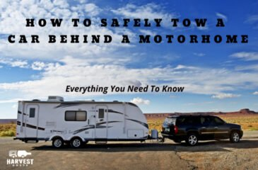 How To Safely Tow A Car Behind A Motorhome [Everything You Need To Know]