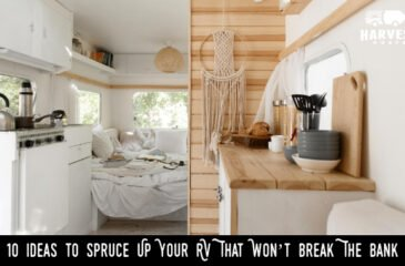 10 Ideas to Spruce Up Your RV That Won't Break The Bank