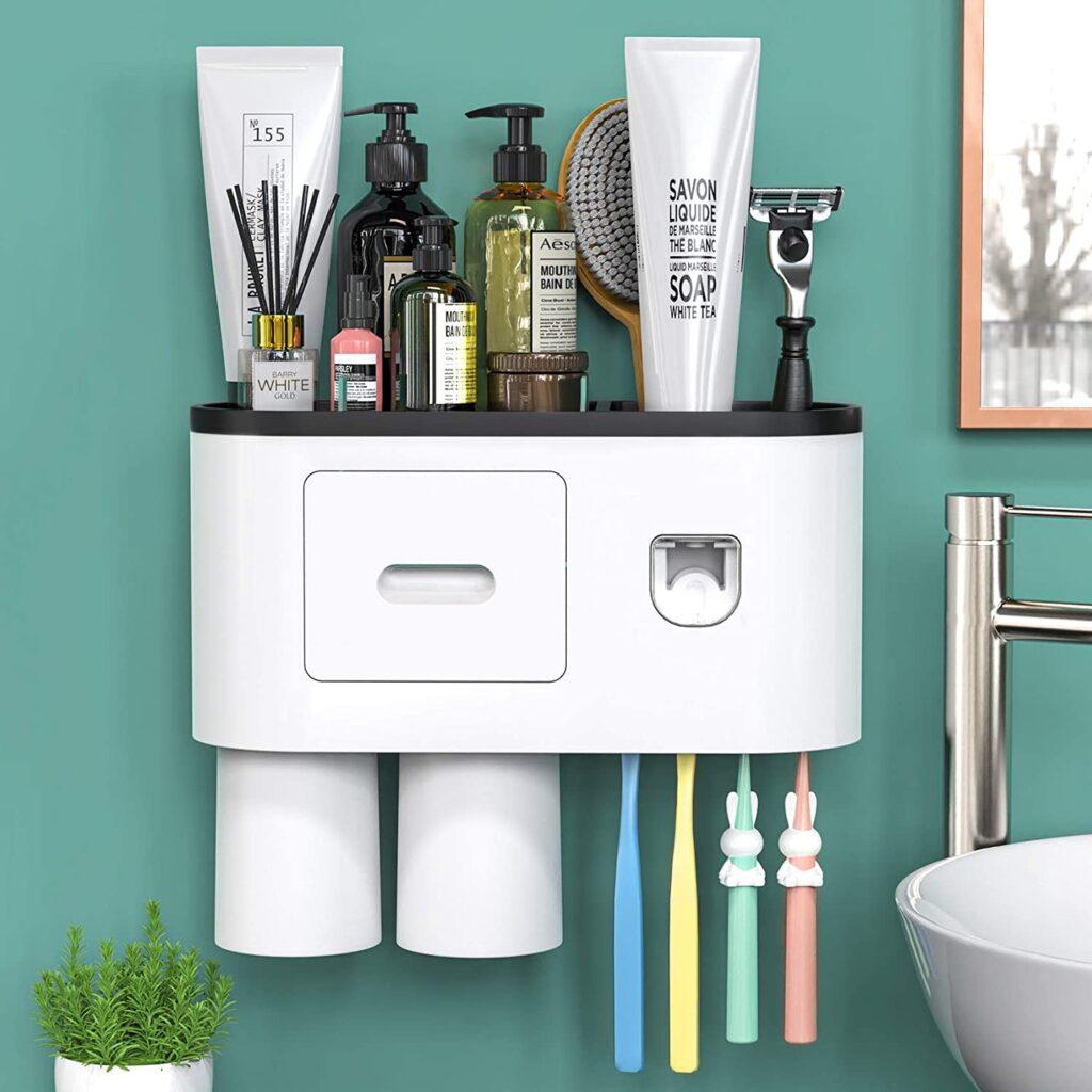 rv bathroom organizing