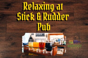 Relaxing at Stick and Rudder Public House